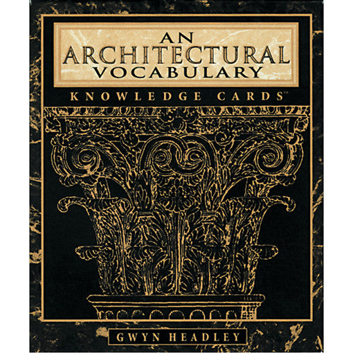 An Architectural Vocabulary Card Game