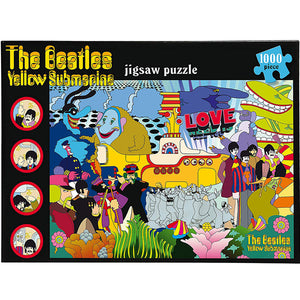 The Beatles - Yellow Submarine 1000 Piece Jigsaw Puzzle