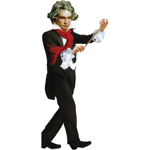 Beethoven Shaped Card