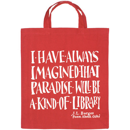 Borges Library Bag