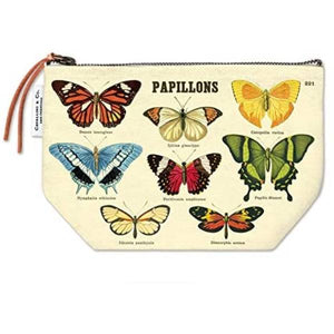Butterfly Samples Vintage Pouch