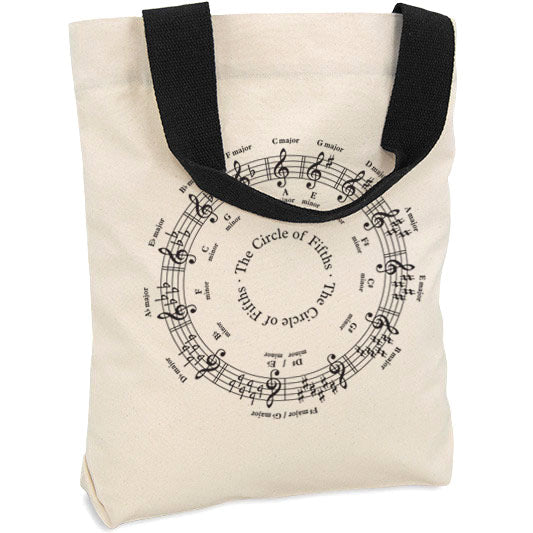 Circle of Fifths Tote Bag