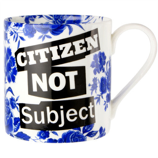 Citizen Not Subject Mug