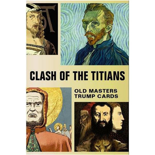 Clash Of The Titians Playing Cards