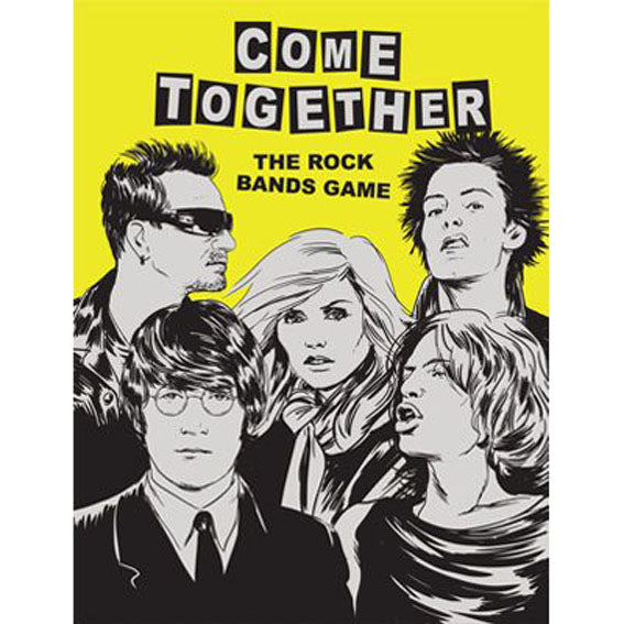 Come Together Rock Bands Game