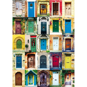 Doors 1000 Piece Jigsaw Puzzle
