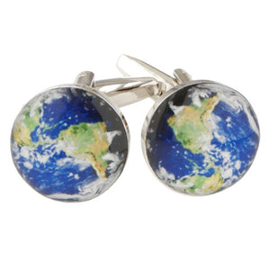 Earth Cufflinks