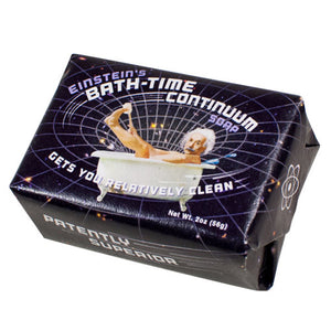 Einstein's Bath-Time Continuum Soap