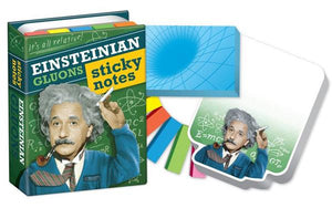 Einsteinian Gluons Sticky Notes