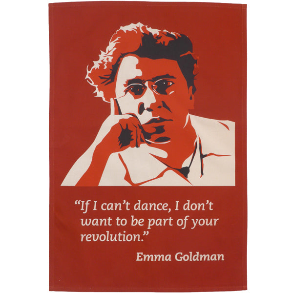 Emma Goldman Tea Towel