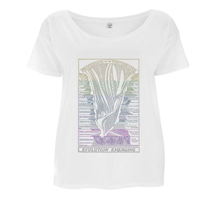 Evolution Emerging Women's T-shirt - Loose-fit