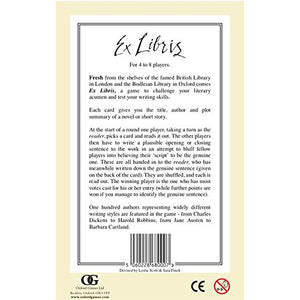Ex Libris - Game of First Lines and Last Words
