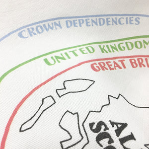 The Britain and Ireland Explainer Teatowel
