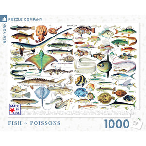 Fish 1000-piece Jigsaw Puzzle