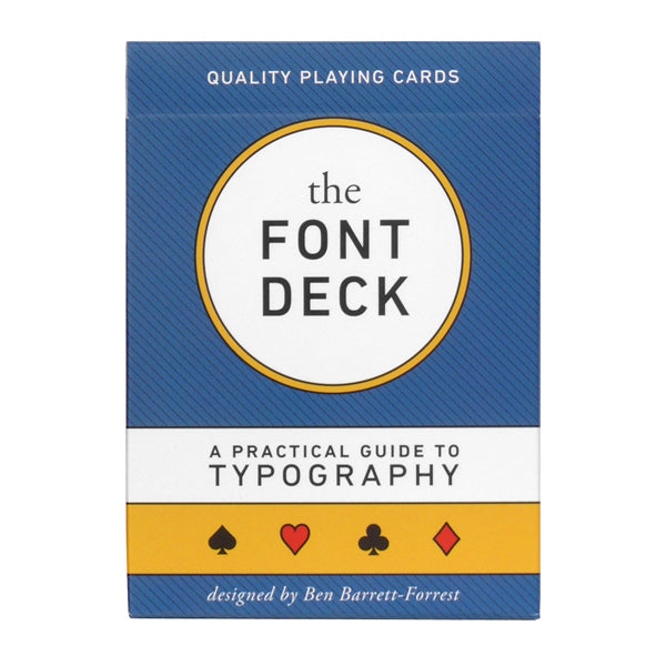 The Font Deck