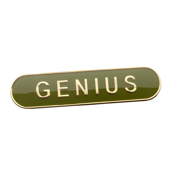 Genius Enamel Pin