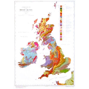 Geological Map of the British Islands