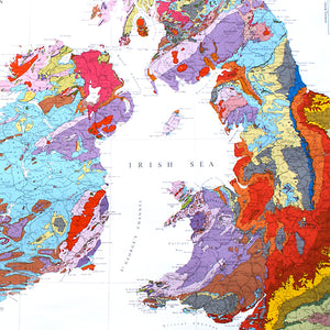 Geological Map of Britain and Ireland