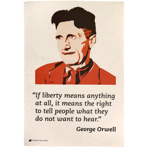 George Orwell Tea Towel
