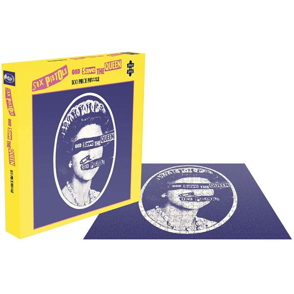 Sex Pistols - God Save The Queen 500 Piece Jigsaw Puzzle