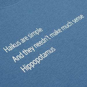 Haikus are...Hippopotamus Unisex T-Shirt