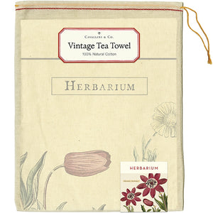 Herbarium Tea Towel