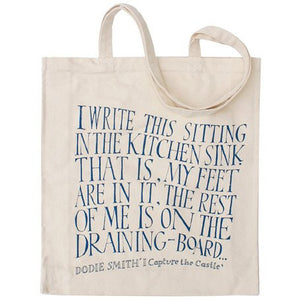 I Capture the Castle Canvas Shopper