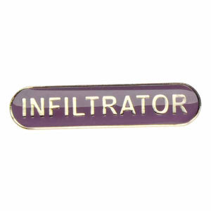 Infiltrator  - Badge of Honour