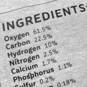Human Ingredients Unisex T-shirt