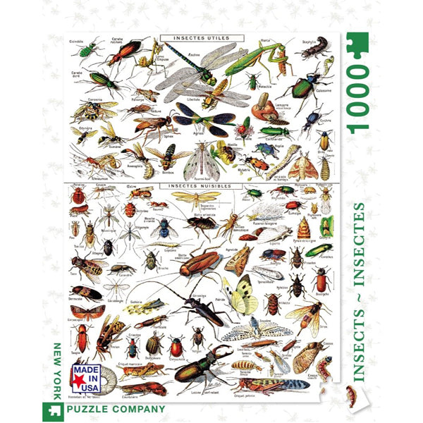 Insects 1000-piece Jigsaw Puzzle