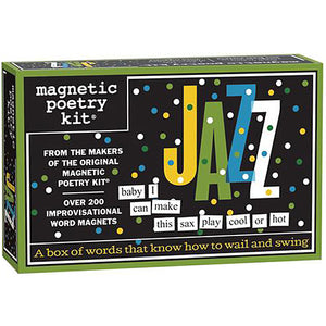 Magnetic Poetry - Jazz Edition