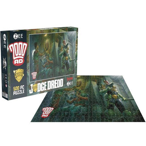 Judge Dredd 500 Piece Jigsaw Puzzle