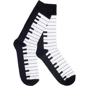 Piano Key Socks