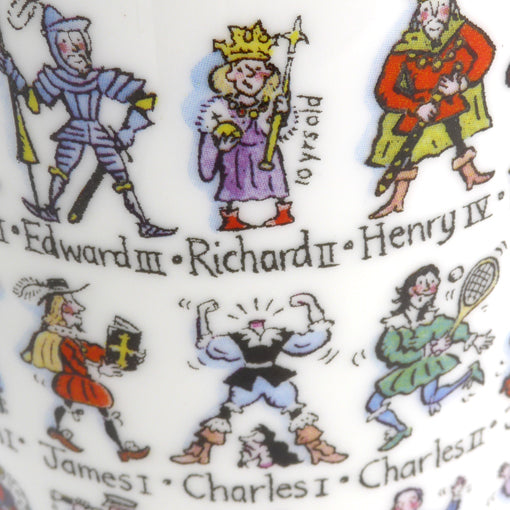 Kings and Queens History Mug