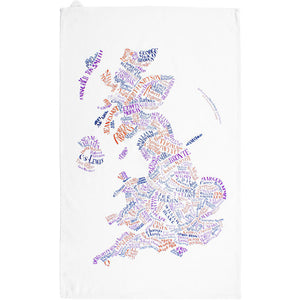 Literary Britain Teatowel