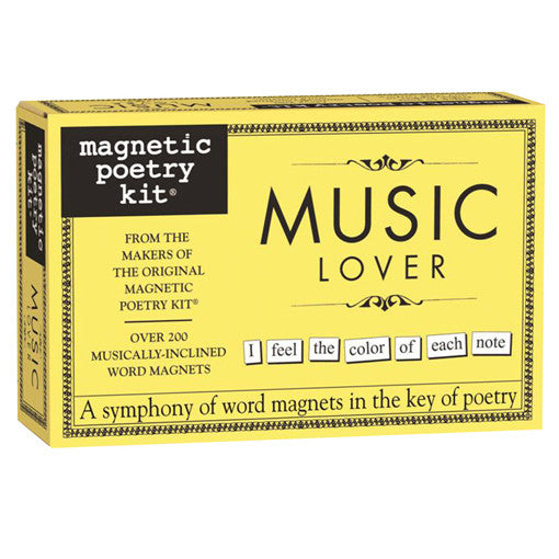 Magnetic Poetry - Music Lover Edition