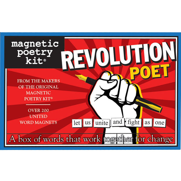 Magnetic Poetry - Revolution Poet Edition