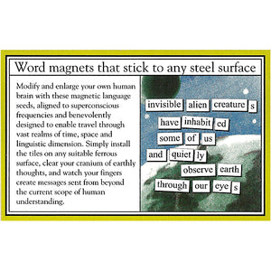 Magnetic Poetry - Sci-Fi Edition