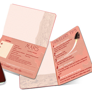 Mars Passport Notebook