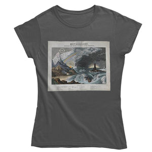 Diagram of Meteorology Women's T-shirt