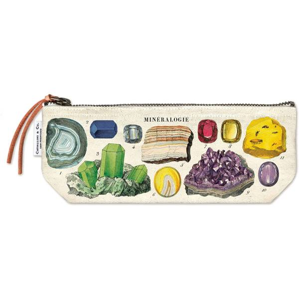 Mineralogy Pencil Case