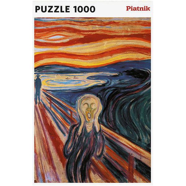Munch - The Scream 1000 Piece Jigsaw