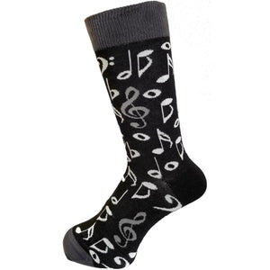 Music Notation Socks