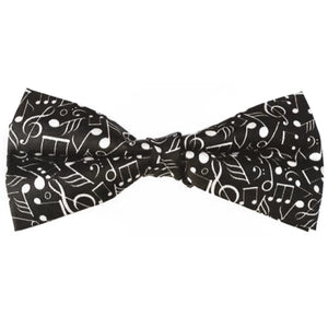 Musical Silk Bow Tie