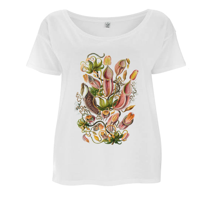 Nepenthaceae by Haeckel Women's T-shirt - Loose-fit
