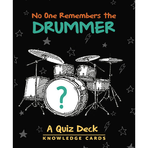 No One Remembers The Drummer