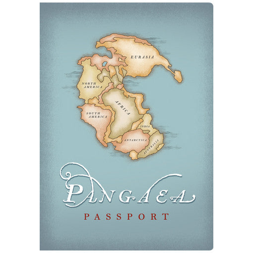 Pangaea Passport Notebook