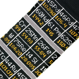 Periodic Table Socks