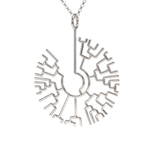 Phylogenetic Tree Necklace