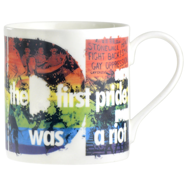 The First Pride Was A Riot Mug